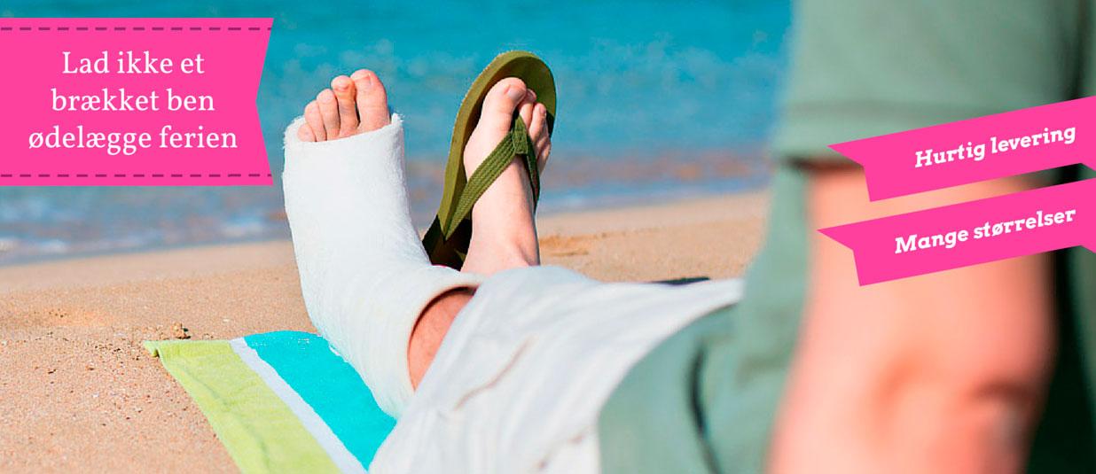 Er ferien truet af et brækket ben?